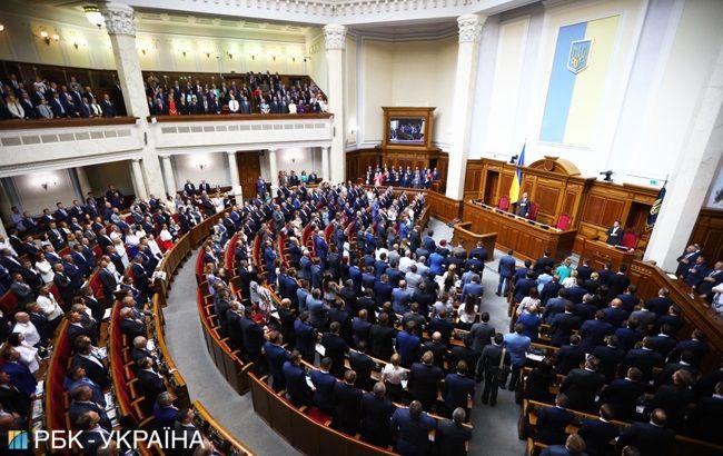 Рада предварительно одобрила закон Зеленского о сокращении числа нардепов
