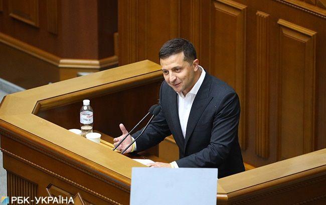 Зеленський привітав Раду з початком нової роботи