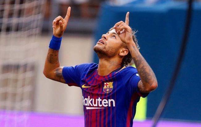 «Барселона» хочет отсудить уНеймара 8,5млневро