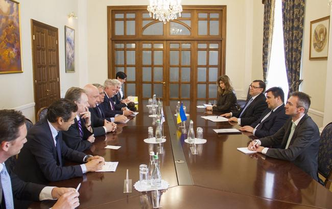 Фото: встреча делегации ПА ОБСЕ с представителями МИД Украины (mfa.gov.ua)