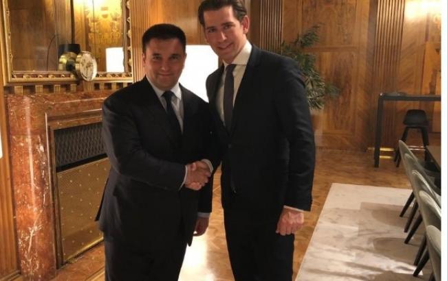 Клімкін та Курц обговорили політику Євросоюзу щодо РФ