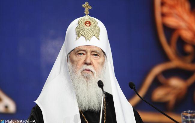 ПЦУ разрешила Филарету пожизненно проводить богослужения во Владимирском соборе