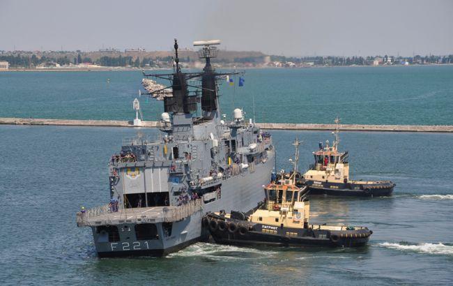 У порт Одеси зайшли 5 кораблів країн НАТО