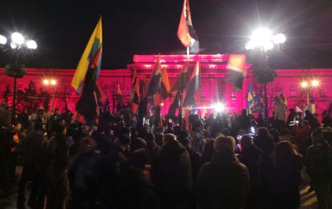 У Києві почались марші націоналістів