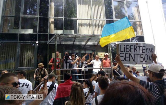 В Киеве устроили марш в поддержку политзаключенных