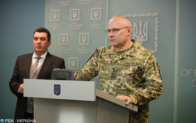 Хомчак рассказал детали утреннего боя на Донбассе