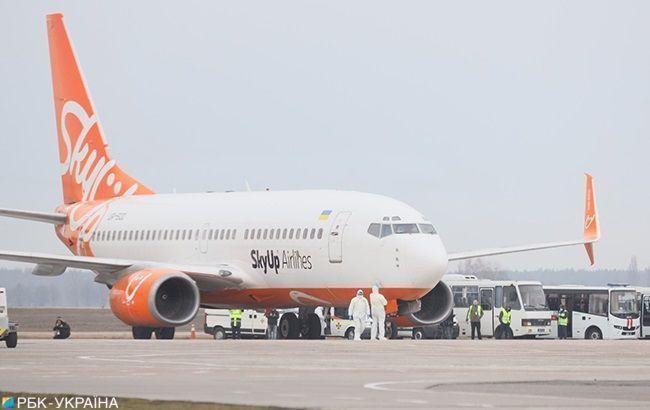 В Италию из Киева спецрейсом отправился самолет для эвакуации украинцев