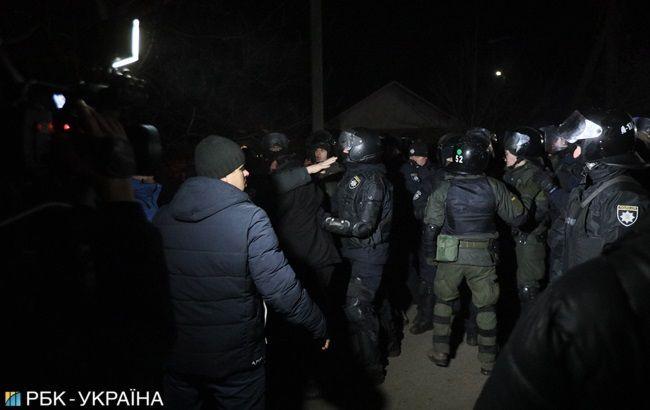 Шестерым участникам протестов в Новых Санжарах сообщили о подозрении