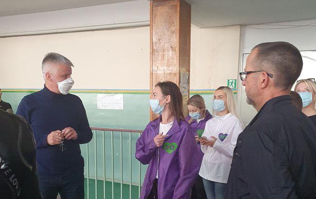 """Спорткомплекс """"Олимпиец"""" в Одессе непригоден для лечения больных COVID-19, - """"За майбутнє"""""""