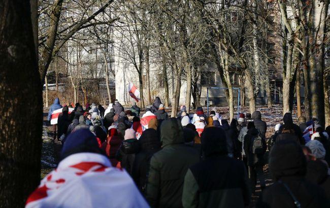У Мінську під час протестів затримали понад 300 осіб