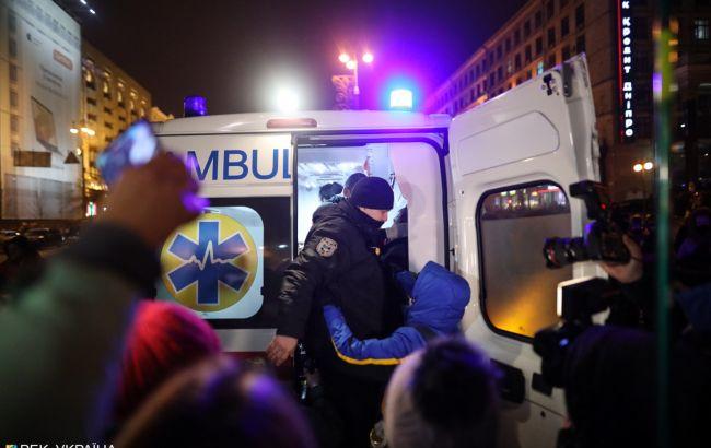На акції ФОПів трьом поліцейським розбили обличчя: порушено кримінальну справу
