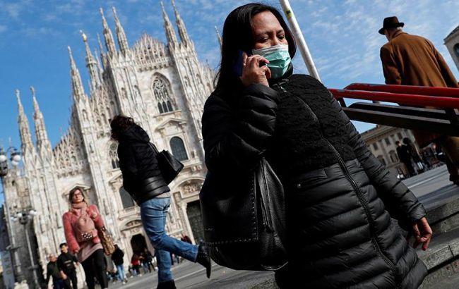 В Італії за добу від коронавірусу померли майже 100 людей