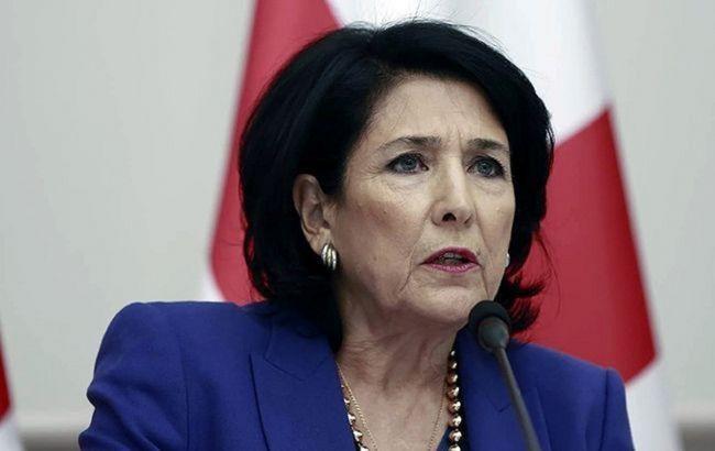 Президент Грузії вважає нормальною реакцію Тбілісі на призначення Саакашвілі