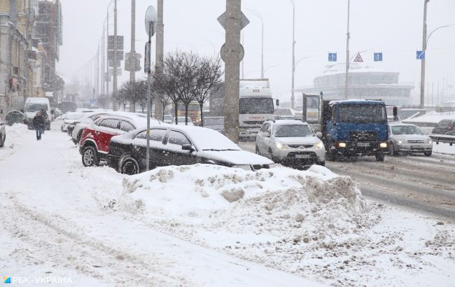 Сніговий колапс. Київ накрила негода: скільки триватиме і коли закінчиться