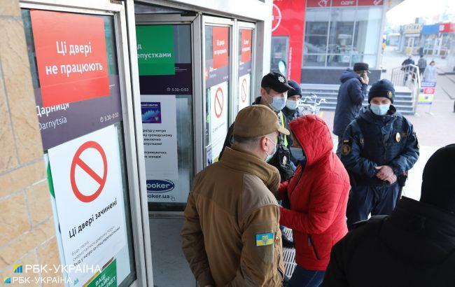 У поліції назвали кількість порушень за період посиленого карантину в Києві