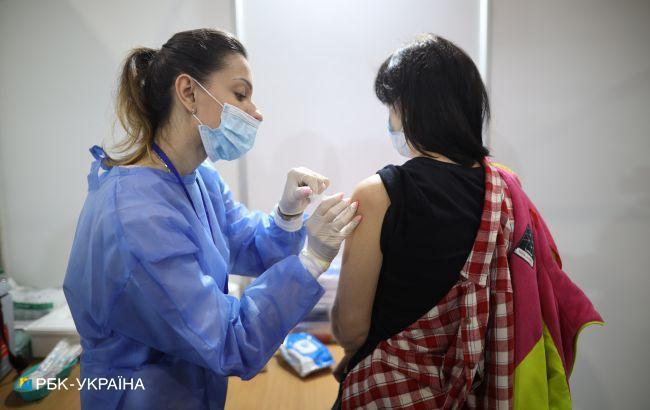 В Украине сделали более 1,5 млн прививок от коронавируса