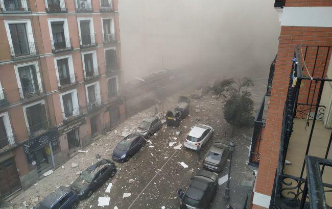 Взрыв в центре Мадрида: по меньшей мере три жертвы