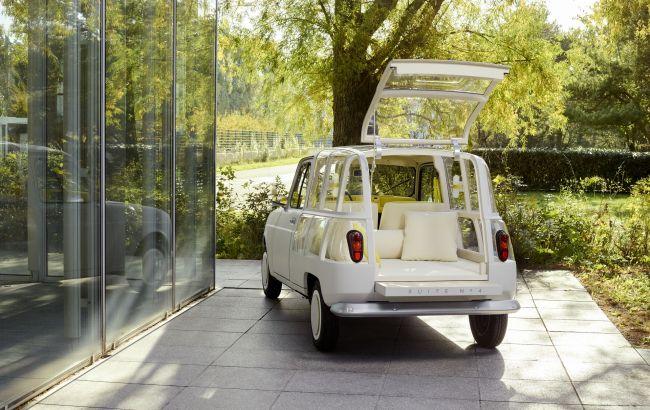 Електричний хетчбек Renault 4 отримав прозорий кузов