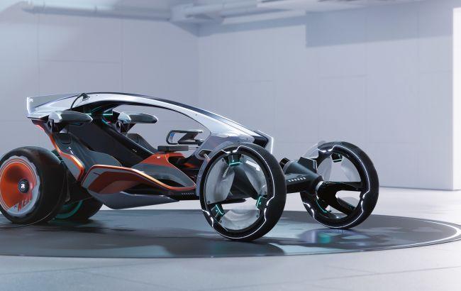 Дизайнери MG створили незвичайний електромобіль-трансформер