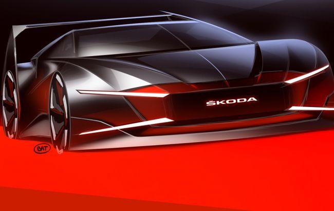 Дизайнеры Skoda реинкарнировали уникальный спорткар из фильма ужасов