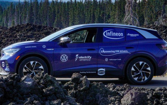 Електромобіль Volkswagen ID.4 подолав 56 тисяч км і потрапив до Книги рекордів Гіннеса