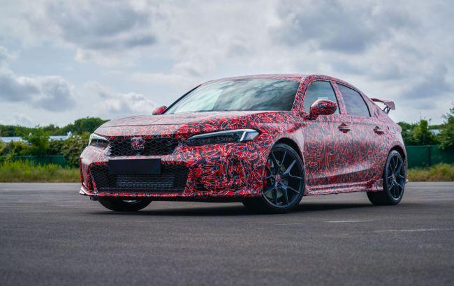 Honda показала первые фото последней бензиновой модели для Европы