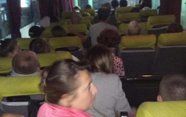 Фото: Автобус (Facebook/Ольга Кравченко)