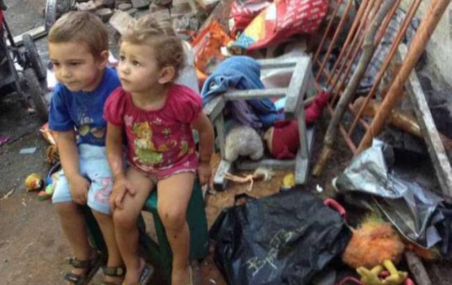 Фото: Діти жили в жахливих умовах (facebook.com/don.gumvs)
