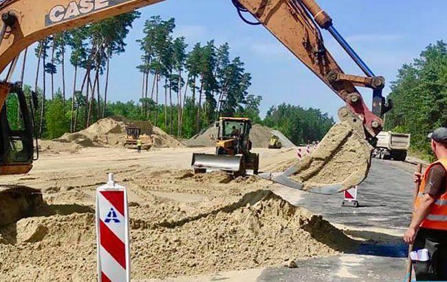У Сумській області розпочався ремонт додаткових ділянок траси Полтава-Суми