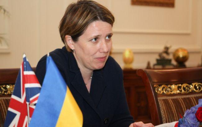 Фото: Джудіт Гоф розповіла про підтримку України