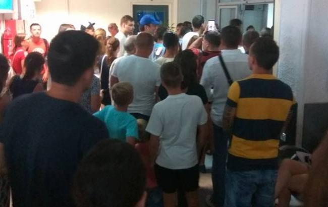Фото: Пасажири з України (Facebook/ Павло Чекаленко)