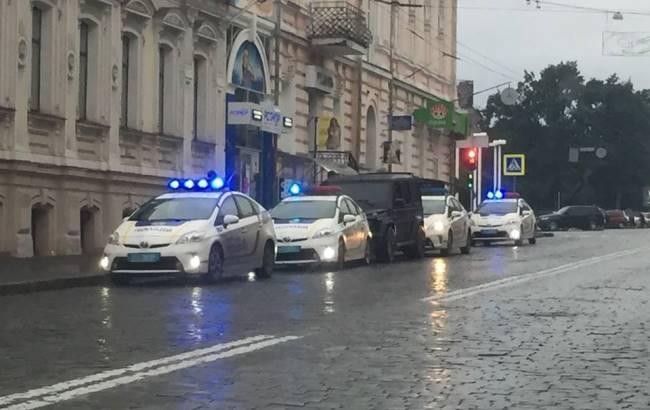 Фото: Поліція зупинила сина чиновника (facebook.com/myharkov)