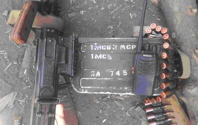 Фото: російська зброя на Донбасі (facebook.com/ato.news)