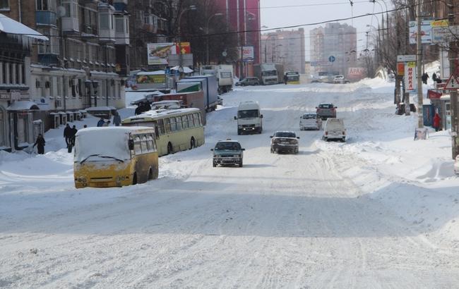 Фото: завтра у Києві очікується сильний сніг