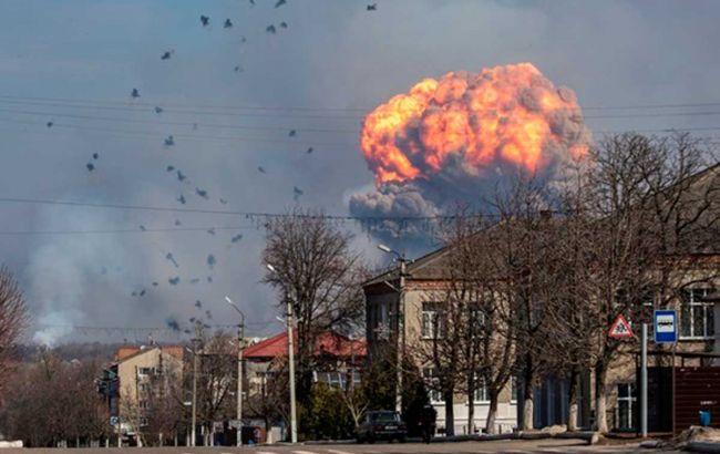 У Генштабі назвали можливу причину вибухів у Балаклії