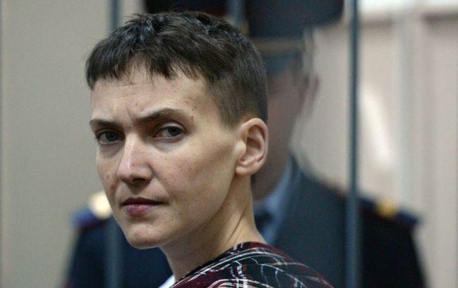 Представители омбудсмена РФ посетят Савченко 6 марта