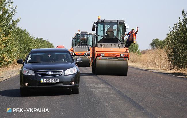 Фото: ремонт дорог (РБК-Украина)