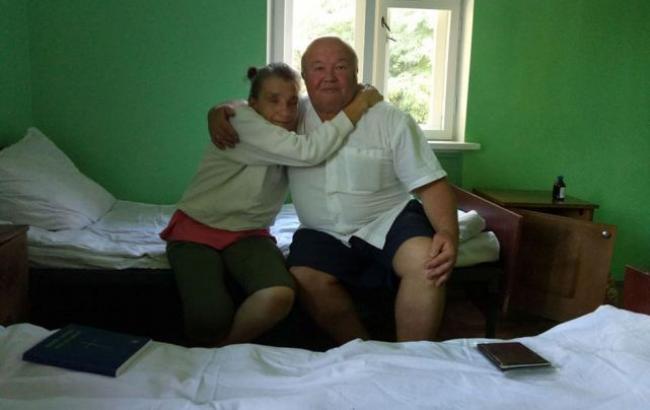 Фото: Ширякина вместе с братом (facebook.com/evhen.chubuk)