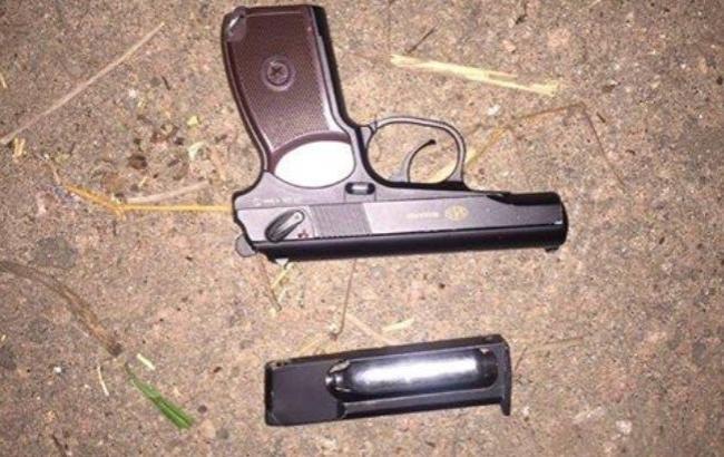 Фото: Пистолет (facebook.com/police.gov.ua)