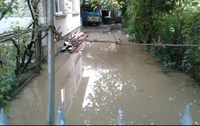 Фото: последствия непогоды в Закарпатье (пресс-центр ГСЧС)