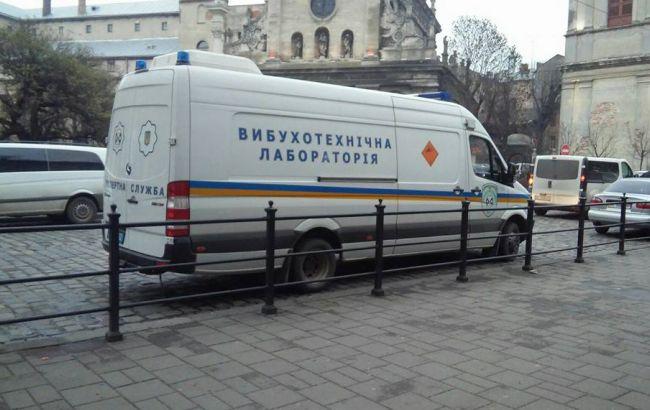 Фото: полиция не обнаружила взрывчатку