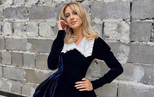 Модная битва: Леся Никитюк повторила эффектный total black образ Ким Кардашьян