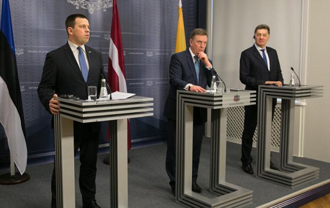 Руководителя правительств стран Балтии проведут переговоры вгосударстве Украина