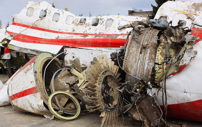 Фото: уламки літака Ту-154