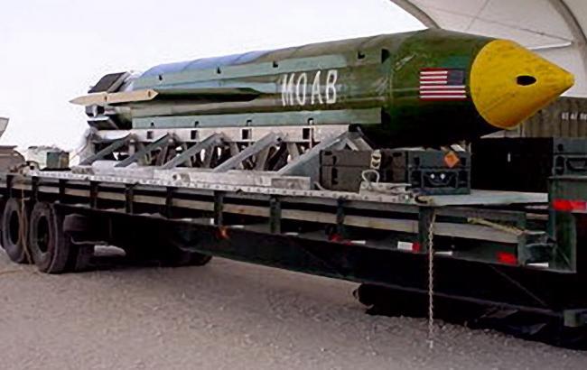Найпотужніша неядерна бомба США знищила 36 ісламістів вАфганістані