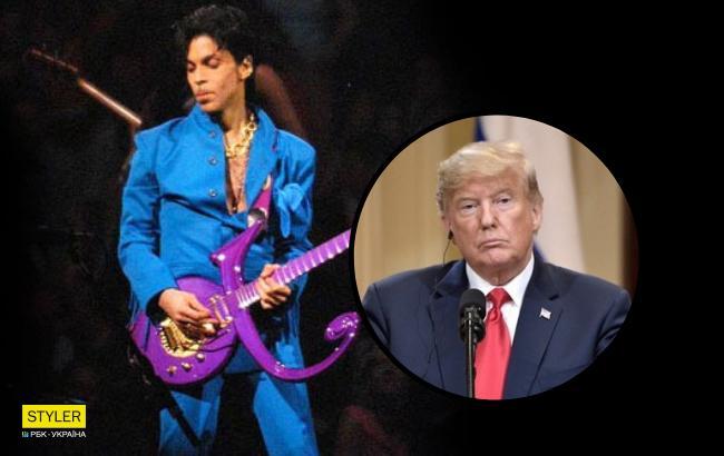 Стыдно? Трампу запретили включать песни Принса на митингах