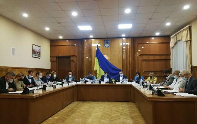 ЦВК припинила повноваження Івано-Франківського обласного виборчкому