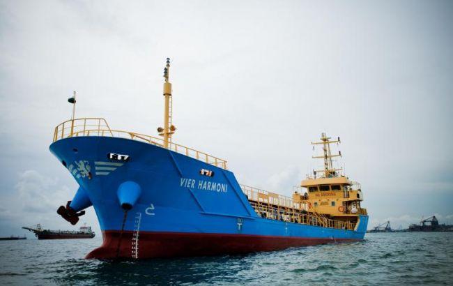 Фото: малайзійський танкер Vier Harmoni