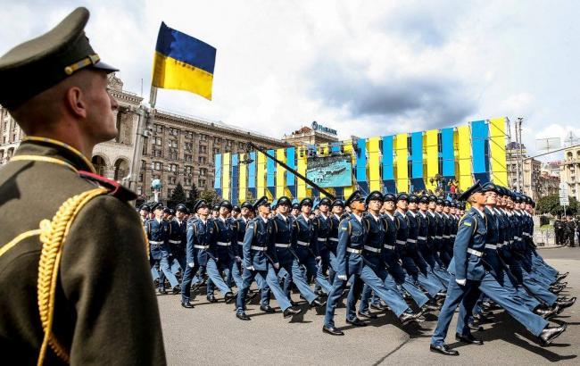 Фото: 14 жовтня - Дня захисника України (facebook.com/theministryofdefence.ua)