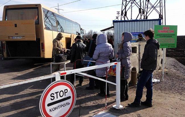 Бойовики обстріляли з мінометівКП уМар'їнці: «перехід» непрацює